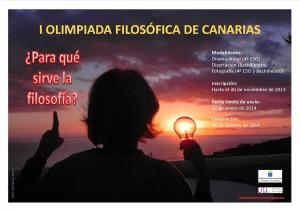 CARTEL_OLIMPIADAS FILOSOFÍA 2013_14