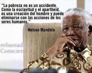 Nelson Mandela_la pobreza